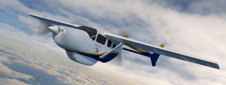 Ampaire 采用高效环保的电气系统推动航空旅行的发展